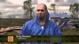 IBEW Members Respond  to the Alabama Tornados