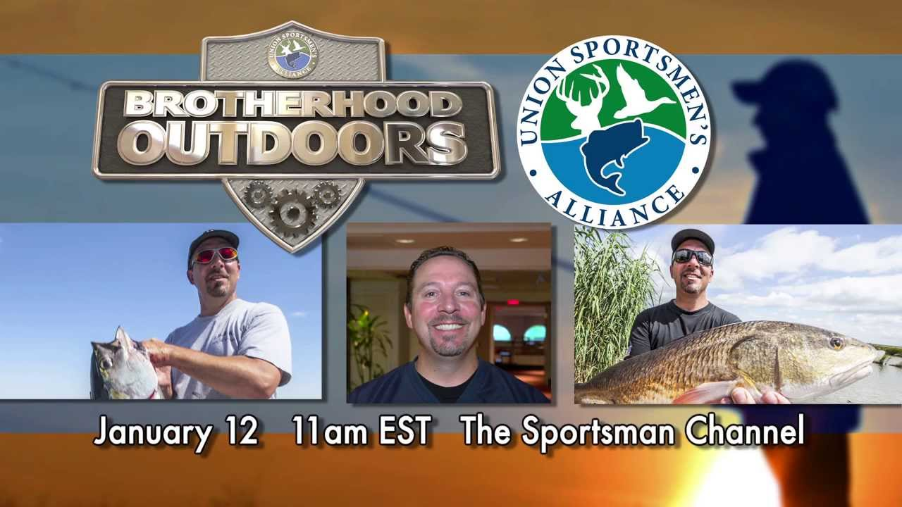 IBEW member on Brotherhood Outdoors