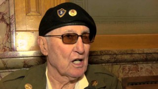 IBEW member Larry Farnan, World War II vet, knighted by France