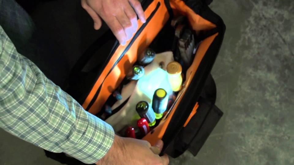 Klein Tools Lighted Tool Bag