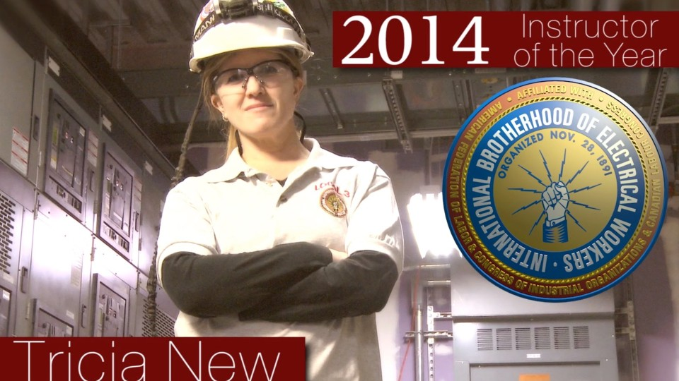 IBEW Instructor of the Year – 2014