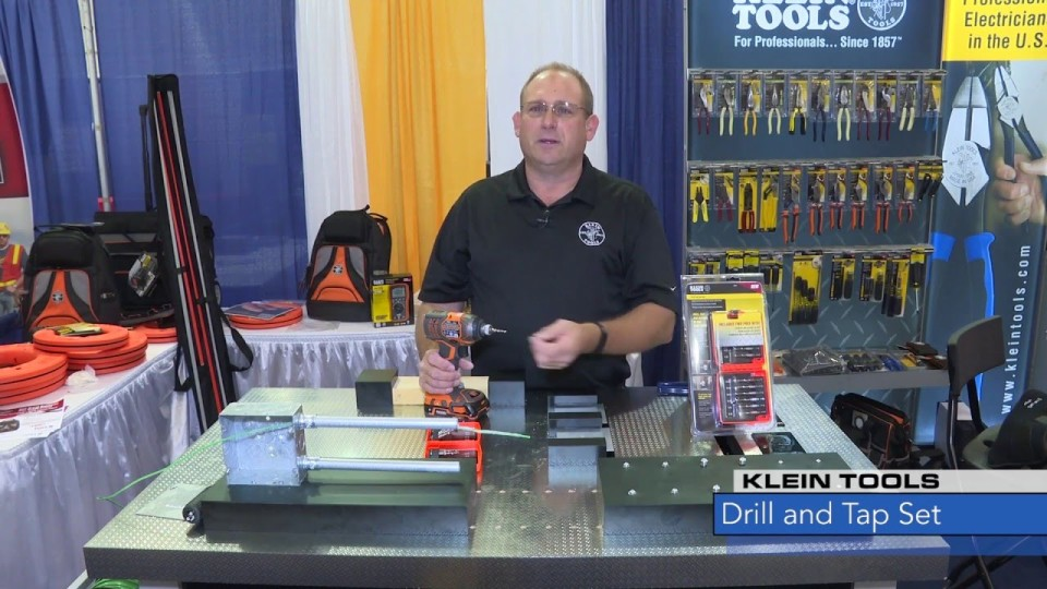 Watts New: Klein Tools Drill and Tap Set