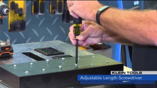 Watts New: Klein Tools Adjustable Length Screwdriver