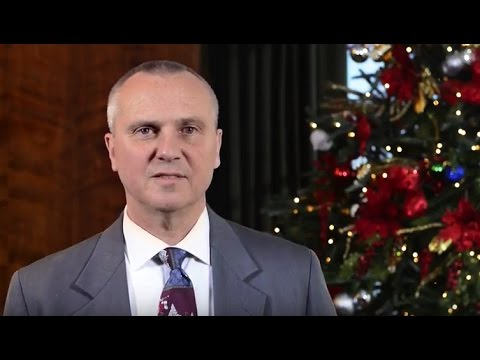 President's Message – Happy Holidays 2016