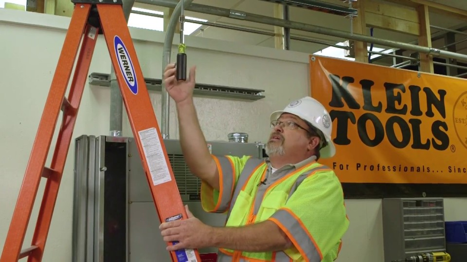 Job Tip – Klein Tools Hollow Shaft Nut Driver